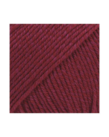 DROPS COTTON MERINO UNICOLOR 07 BORDEAUX