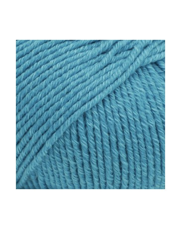 DROPS COTTON MERINO UNICOLOR 24 TURQUOISE