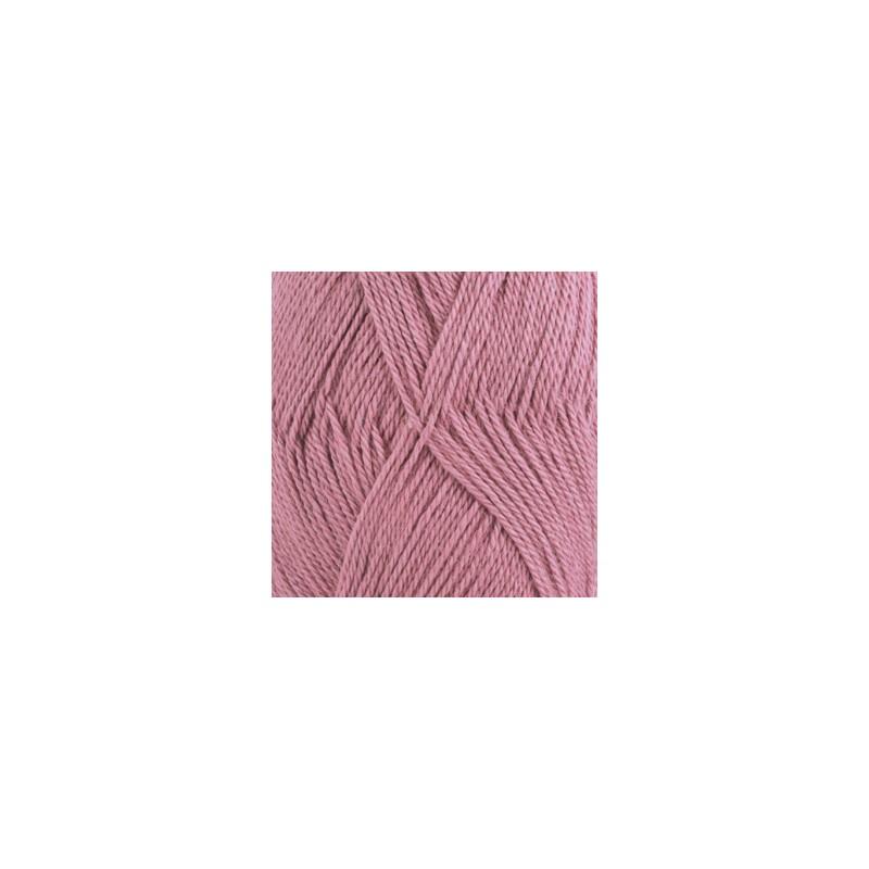 DROPS BABY ALPACA SILK UNICOLOR 3250 VIEUX ROSE CLAIR